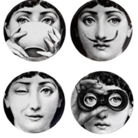 Facial Fantasies From Fornasetti