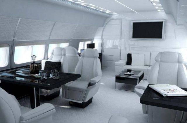 Versace/TAG Aircraft Interiors