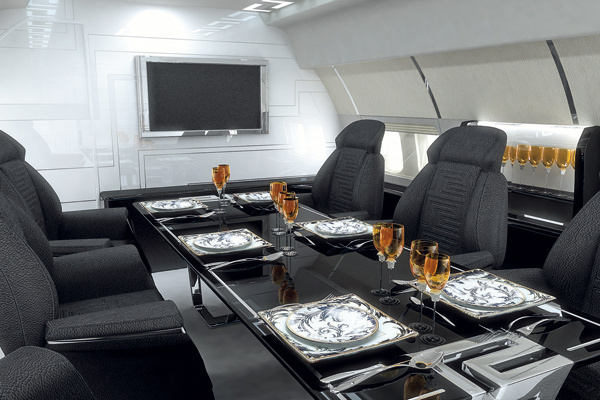 Versace/TAG Aircraft Interiors