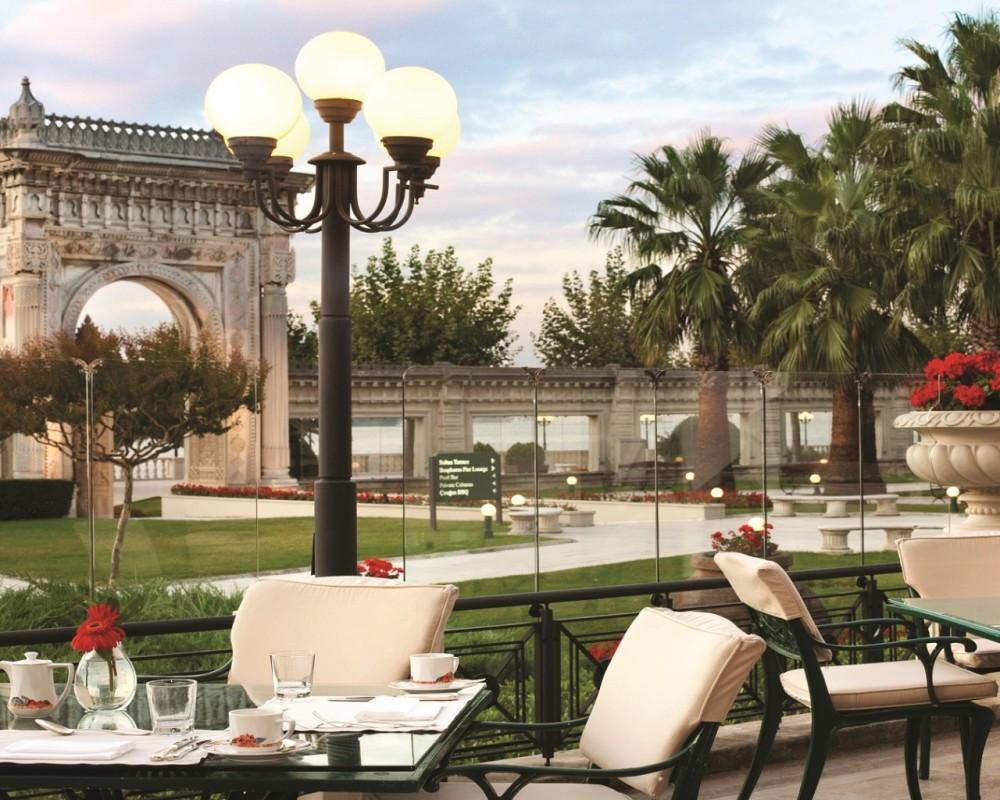 Çırağan Palace Kempinski | Laledan Terrace