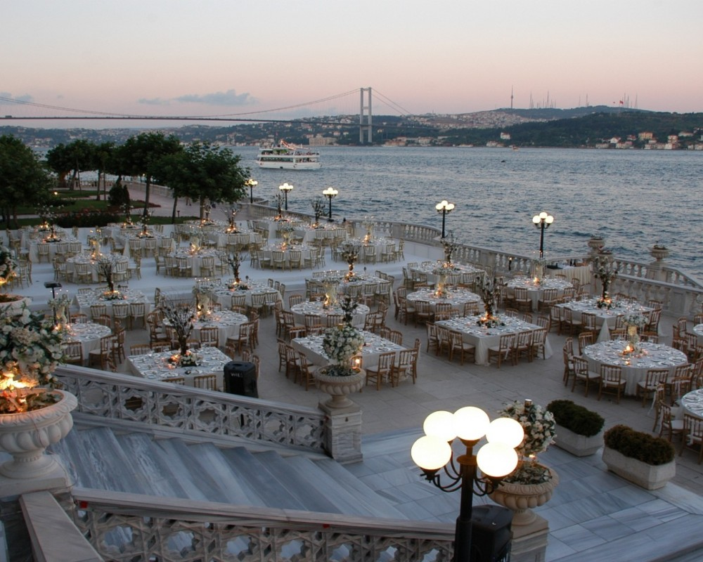 Çırağan Palace Kempinski | Wedding Terrace