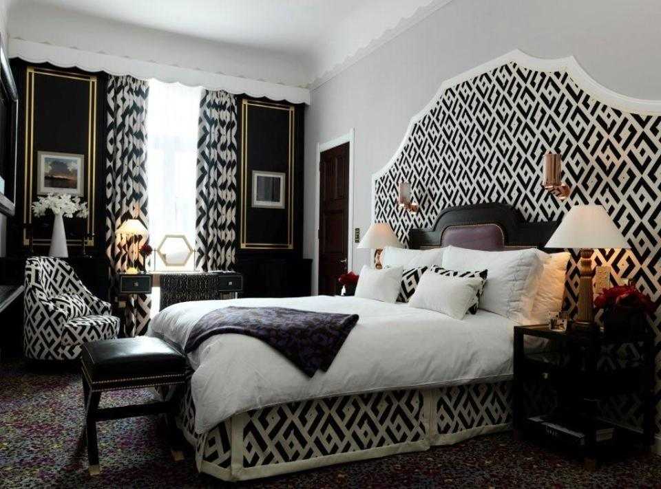 Diane von Furstenberg for Claridge's Hotel |  London, England