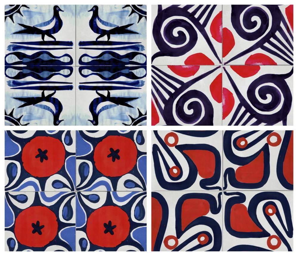 Ruan Hoffman Tile Collection via Clé
