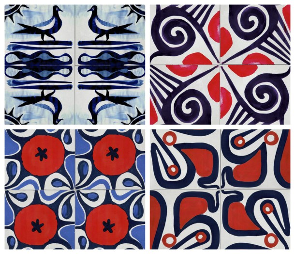 Ruan Hoffman Tile Collection via Clé