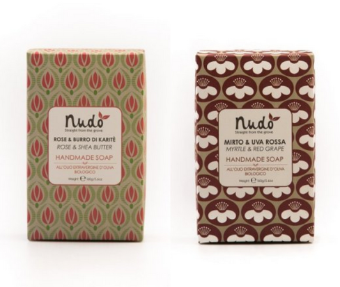 Scents of Italy Soap Bars via Nudo