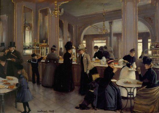 La Pâtisserie Gloppe au Champs-Élysées | Jean-Georges Béraud, 1889