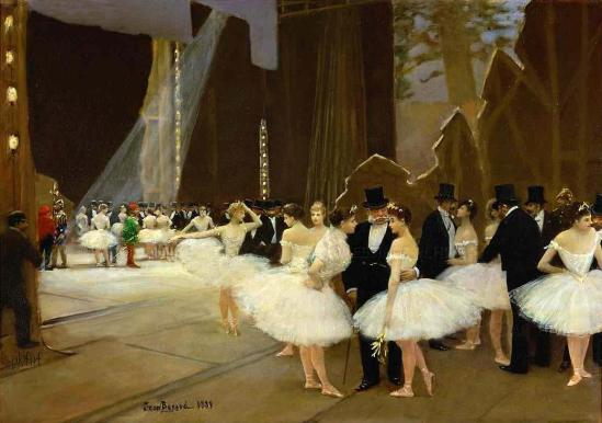 In the Wings at the Opera House | Jean-Georges Béraud, 1889