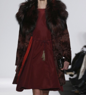 Mercedes-Benz Fashion Week: Dennis Basso – Autumn|Winter 2014
