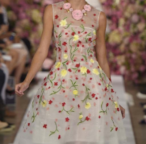 New York Fashion Week: Oscar de la Renta – Spring|Summer 2015